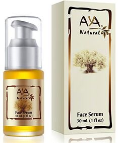 Natural Face Serum Daily Moisturizer  100 Natural Premium Vegan Facial Skin Care  Jojoba Olive Almond and Avocado Oils Blend *** To view further for this item, visit the image link.