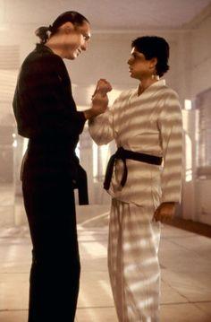 KARATE KID PART II, Ralph Macchio (r.), 1986, (c)Columbia Pictures