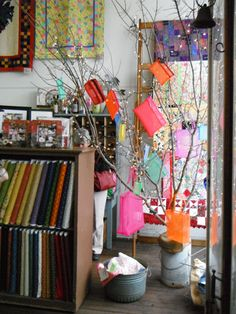 Hen & Chicks Studio - Conrad, Iowa -  the town's old general store, now a place of creativity & inspiration. . . quilting, scrapbooking, retreats, unique gifts.    www.henandchicksstudio.com