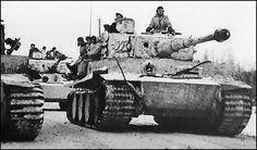 German Tiger I Tanks...