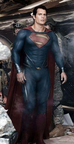 Superman (Kal-El) Man of Steel (Henry Cavill) Superman Man Of Steel, Batman Vs Superman, Superman Henry Cavill, Dc Heroes, Marvel Dc Comics, Actors, Justice League, Supergirl, Comic Book Characters