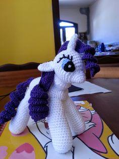 Teia de Carinhos: My Little Pony - Pink Pie e Rarity