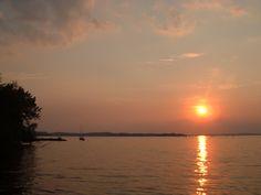 Sunset In Madison