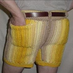 Crochet Mens Shorts Patterns Pictures