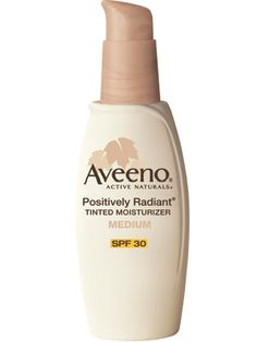 Daily tinted-moisturizer that won't break the bank. This gives my skin some coverage with a nice glow, too.