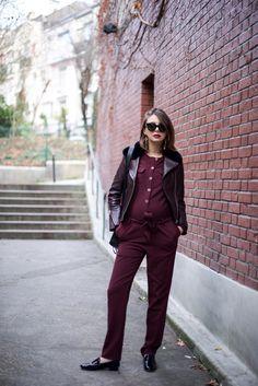 look-de-grossesse-chic-combinaison-bordeaux-sezane-repetto-noires-the-brunette-blog-mode-4