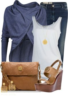 """""""Messenger Bag...Tory Burch Style"""" by tammylo-12 ❤ liked on Polyvore"""