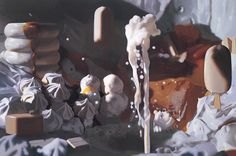 Will Cotton, Cream, 1999, oil on linen, 48 x 72 inches. Courtesy of the artist and Mary Boone Gallery