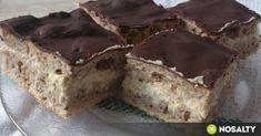 Poppy Cake, Hungarian Recipes, No Bake Cake, Tiramisu, Banana Bread, Bakery, Muffin, Cooking Recipes, Sweets