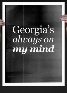Anartpixie:    Georgia's always on my mind (by Grafisk Anstalt (www.grafiskanstalt.dk))    Reblogging a reblogging from myself, just to tell you this is still available at Society6.comOH and theres FREE SHIPPING thru Sunday, worldwide!