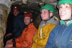 Caving in the Yorkshire Dales - Corporate team building ideas.