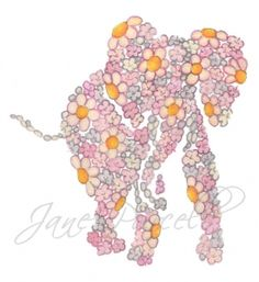 PINK ELEPHANT NURSERY ART
