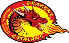 Catalans Dragons Primary Logo (2008) -