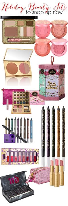 Early Holiday #makeup Gift Sets To Snap Up Now! #makeupgifts