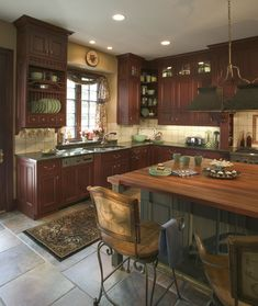 1000 images about home cherry wood on pinterest cherry for Cinnamon cherry kitchen cabinets