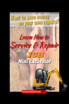19 Best JCB Mini Excavator Service Manual PDF images in 2019