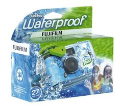 Fujifilm Quick Snap Waterproof Single Use Camera Pack): Camera & Photo Photography Supplies, Dslr Photography Tips, Photography Equipment, Underwater Photography, Film Photography, Camcorder, Film Blue, Camera Deals, Blue And Green