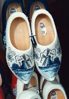"""Dutch wooden shoes - """"clogs"""""""