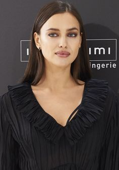 Irina Shayk attends the celebration for the second anniversary of Intimissimi at Preciados Store in Madrid, Spain on November 17, 2016