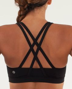 Lululemon Energy Bra--my favorite sports bra, ever! Supportive, sweat-wicking, and EXTREMELY comfortable! Worth the price!