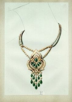 cartier jewelry sketches - Google Search