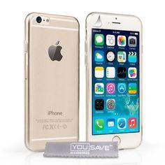 Transparent Ultradünn Silikon Gel Schutzhülle für iphone 6 und iphone 6 Plus - Prima-Module.Com