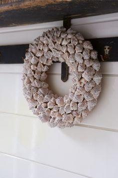 Bretagne Shell Wreath 40cm - Rivièra Maison - Summer Collection - Krans