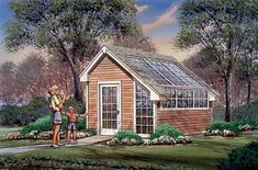 Eplans Project Plan - Contemporary Shed Wows With Windows - 0 Square Feet and 0 Bedrooms from Eplans - House Plan Code HWEPL11840