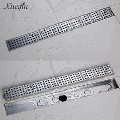 23.59$  Watch now - http://alitwo.shopchina.info/1/go.php?t=32792328300 - Xueqin Free Shipping Stainless Steel Bathroom Shower Floor Drain Grates Waste Linear Tile Insert Long Drainer Floor Drain  #SHOPPING