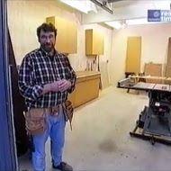 ▶ New Yankee Workshop - How to Build a Garage Workshop Part 1 of 2 Garage Workshop Plans, Garage Workshop Organization, Workshop Layout, Home Workshop, Woodworking Workshop, Woodworking Tips, Workshop Ideas, Woodworking Equipment, Building A Garage