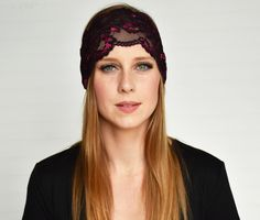 You don't look like a grandma, you look too young and fabulous. More like a Glamma! This beanie hat is a great gift. Lacey Black, Lace Headbands, Beanie Hats, Products, Fashion, Moda, Beanies, Fasion, Trendy Fashion