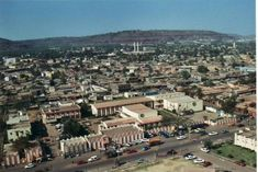 A birdseye view of a part of Bamako City, which is Mali's biggest city and capital city.