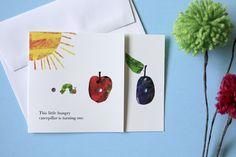 A Very Hungry Caterpillar Birthday Invitation | Lavender's Blue Designs