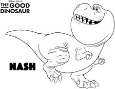 Free Coloring Pages And Activities From The Good Dinosaur