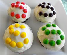 Emma Clare Eats: Skittles Cupcakes with Citrus Buttercream Frosting. OMG.