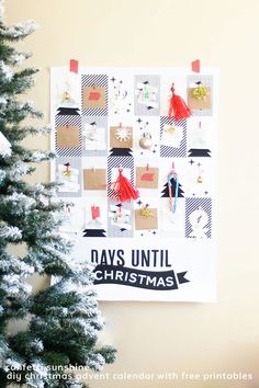 13 COLORFUL PAPER ADVENT CALENDARS YOU CAN MAKE