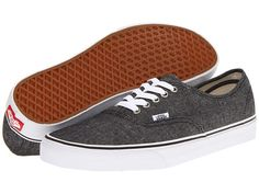 Vans Authentic™ (Brushed Twill) Porcelain/True White - Zappos.com Free Shipping BOTH Ways