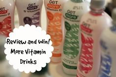 Review and Win More Vitamin Drinks http://cookiesandcwtches.com/drinking-healthier-with-more-drinks/