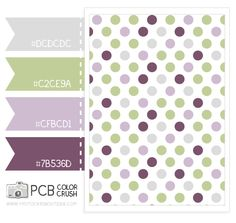Color Crush 5.13.2013 - Plum, mint and gray