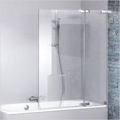 schulte duschmeister 302 badewannenaufsatz 3 teilig mit. Black Bedroom Furniture Sets. Home Design Ideas