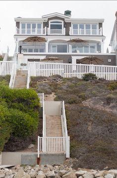 California Beach house back beachside …