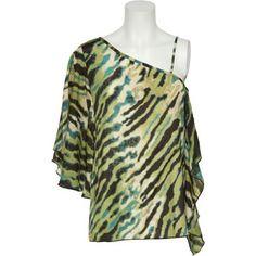 GRASS Draped Zebra Print Blouse W/ Butterfly Sleeve [5XOTBMKT] TLGR, SM Grass http://www.amazon.com/dp/B006WQQABY/ref=cm_sw_r_pi_dp_ZGn.tb08X1K0C