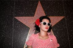 katy perry and Hollywood star. pop.