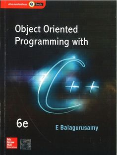 6307e6bb0b Buy Object Oriented Programming with C++ Book Online at Low Prices in India