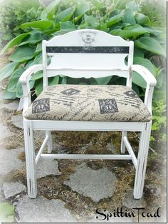 Power of Paint: French Bench from Spittin Toad