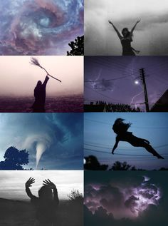 Witch Aesthetics // Storm Witch   Chaos Witch   Seaside Witch   Divination Witch   Scent Witch