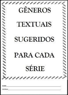 Generos Textuais Atividades Para Imprimir E Colorir Generos