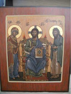Божия Матерь на престоле с предстоящими / Фотоальбомы / Портал Слово - изографам