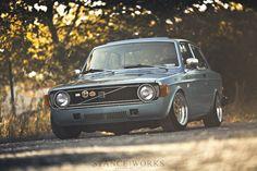 1974 volvo 142 gl | greg keysar.   i love the body styling of this volvo.