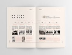 Creative Editorial, Sophie, Calle, Hacedores, and de image ideas inspiration on Designspiration Editorial Design Layouts, Magazine Layout Design, Graphic Design Layouts, Book Design Layout, Print Layout, Graphic Design Print, Graphic Design Inspiration, Magazine Layouts, Design Posters